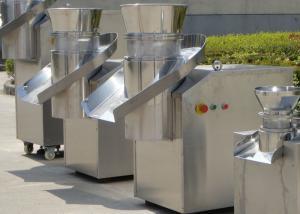 China Stainless Steel Revolving Granulator For Extruding Cylinder Pellet GMP Sandard on sale