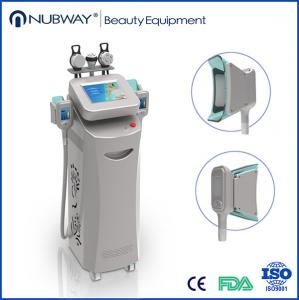 China 5 Handles Fat Freezing Machine , Multifunctional Cavitation RF Machine on sale
