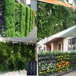 Wall planting grow bag makes your outer wall to be a green garden,customized design