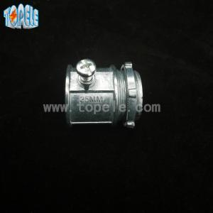 China Silver Color Set Screw Electrical Coupling BS Electrical Conduit Connectors on sale