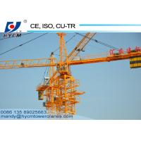 New CE/CU-TR/ISO9001 Certified QTZ100(5020) Building Construction Tower Crane for Sale