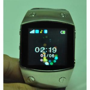 China Black / Brown K12 Quad band Single SIM with FM radio, Bluetooth Wrist Watch Phone on sale