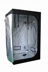 China Hydroponic flower tent homebox grow tent Light proof for indoor garden with 600D black canvas on sale