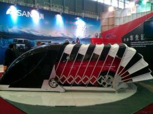 Charmant Solar Powered Outdoor Retractable Car Garage