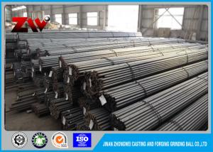 China Precise Size Low carbon grinding rods HRC 60-68 for Power Plant / Ball Mill on sale