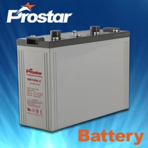 China Prostar solar battery 2v 1000ah on sale
