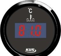 China Digital Water / Fuel Temperature Gauge on sale
