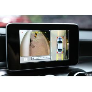 China Seamless 360 Degree Car Rearview Camera System ,4 Channel DVR Bird View Parking System on sale