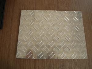 China 1060 Embossed Aluminum Sheet/Foil for Refrigerator Width: 100-1200mm Temper O - H112 on sale
