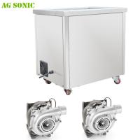 Large Tank Turbochargers Industrial Ultrasonic Cleaner with heating 28khz Frequency