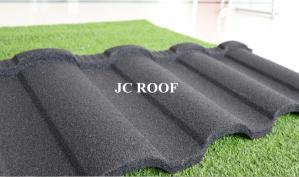 China Zinc-aluminium coating&stone chip light weight stone coated roofing tiles on sale