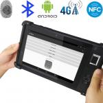8 INCH 2+16G 4G SIM Card Android Handheld PDA Biometric Fingerprint Reader  FP08