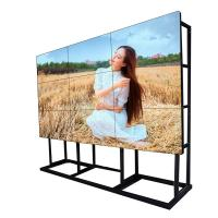 55 Inch Seamless LCD Video Wall Display 1920 * 1080 High Definition Long Life