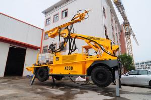 China PLC Control Concrete Spraying Equipment 4 Wheel Drive KC3019 With Manipulator on sale