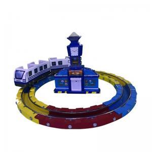 China Track Railway Train Amusement Arcade Machines  / Kids Amusement Ride on sale
