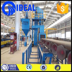 China International and outer pipe cleaning shot blasting machine with ISO9001,CE certification on sale