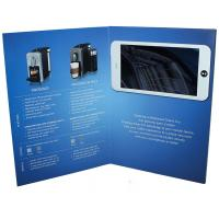 Free sample limited Video in Folder Factory Supply Custom 10 inch Touch Screen  wifi Video Brochure With Your APP