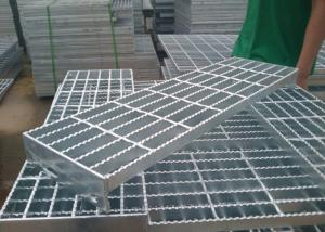 China Industrial Steel Stair Treads Grating / Stainless Steel Step Treads on sale