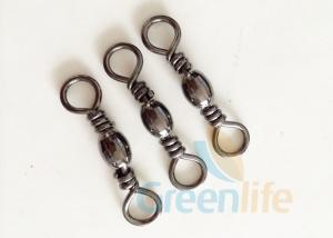 China Fishing Swivel Connector Lanyard Accessories Durable Stainless Steel 22 MM on sale