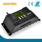 Regulador solar casero de la carga de las Sistema Solar CM3024 30A 12V/24V LCD