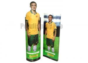 China Personalized Standee Display , Strong Structure Cardboard Floor Displays on sale