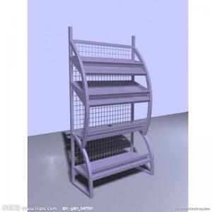 China Portable Steel Metal Newspaper / Magazine Racks For Home 10-30kgs / Layer on sale