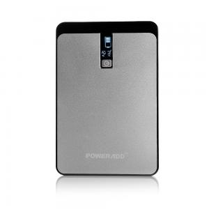 China Multi Port Portable USB Power Bank Gray Color For Smart Phones / Laptop on sale