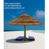 Synthetic Thatch Beach Umbrella