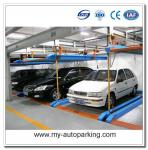 Lift and Slide Puzzle Parking System