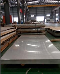 China STAINLESS STEEL COLD ROLLED SHEET, ASTM A240-A480, 304. NO.4 FINISH WITH PVC COATING ONE LAYER on sale