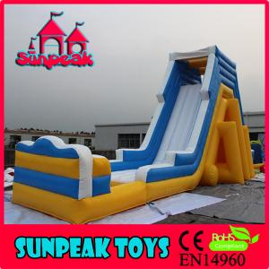 China WL-1846 Giant Inflatable Water Slides For Kids And Adults Inflatable Water Slide on sale