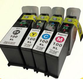 China Compatible LEXMARK 100 / 105 / 108 Ink Cartridge for LEXMARK S305/S405/S505/S605/S308 series on sale