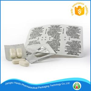 China Pvc pvdc film for pharmaceutical packing ptp aluminum foil on sale
