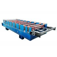 China Manual Control Roof Panel Roll Forming Machine Power Supply 380V 60HZ 3 PHASES on sale