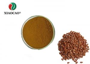 China High Levels Protein Organic Herbal Extracts , Organic Flax For Food Beverage Snack on sale