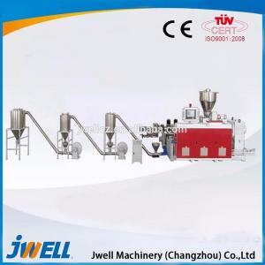 China Good service plastic pelletizing extruder machine for sale on sale
