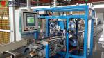 Automatic busbar assembly system with riveting machine, gripping machine