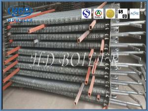 China Longitudinal Double - H Stainless Steel Finned Tube For Heat Exchanger on sale