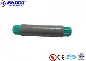 China Cable To Cable Plastic Push Pull Connectors 12 Pin 5000 Mating Cycles Endurance on sale