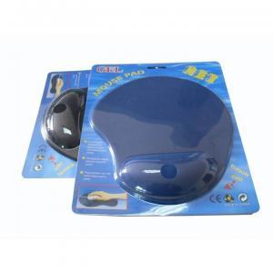 China 注文のロゴの人間工学的の快適なゲルの手首残りのマウス パッド on sale