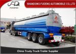 China Crude Oil Tank Semi Trailer Fuel / petroleum 50000 liters Steel Petro Tanker Semi Trailer wholesale