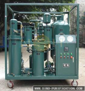 China Easy Handling Lube Oil Purification System , 3P Lube Oil Purification Machine on sale
