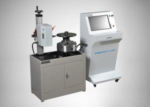 China Iron Steel Dot Peen Marking Machine Automatic 50mm / Second Speed High Accuracy on sale
