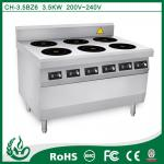 Commercial induction range catering equipment