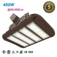 High Lumen Commercial Outdoor LED Flood Lights 400W Warm White For  Factories