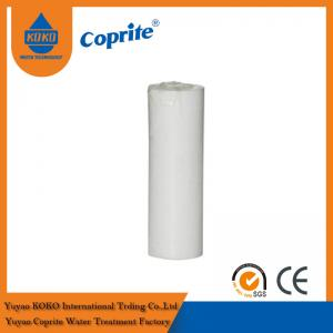 Quality One Stage PP / Ceramic Cartridge Household Water Filter With Stainlees Steel for sale