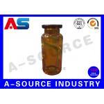 Капельница 10мл Амбера Брауна стеклянная фармацевтическая промышленная разливает рот/капельницу по бутылкам Айонет