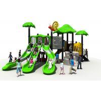 Green Children Outdoor Playground Equipment ,KAI QI Kids Playground Slide