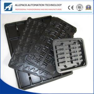 China ALLEPACK Electronic Component Trays ESD Blister Packing for Small Eledtronics Parts on sale