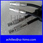2pin lemo circular straight plug cable assembly